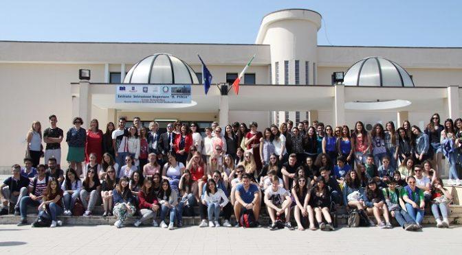"""Il Liceo """"R.Piria"""" ospita gli studenti di Erasmus+"""
