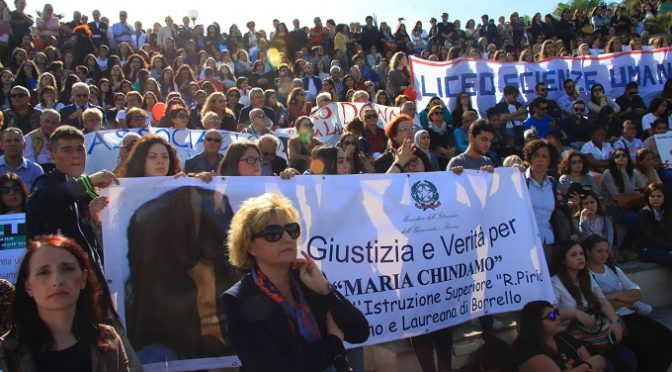 Anche il Liceo Piria dice: No alla violenza alle donne!