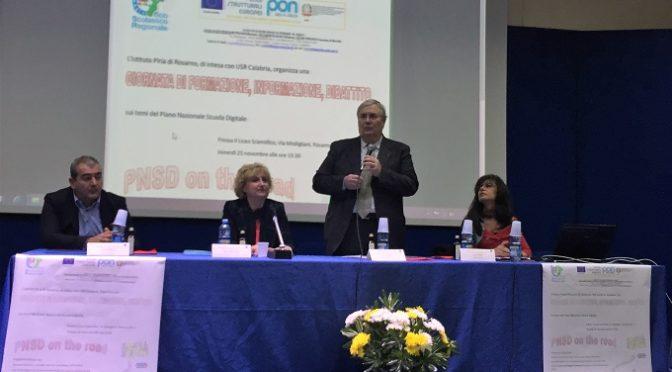 Inaugurata al Liceo Piria di Rosarno la settimana di formazione PNSD