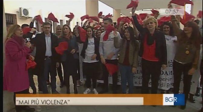 """Rai3 Calabria e IIS """"R. Piria"""" contro la violenza sulle donne"""