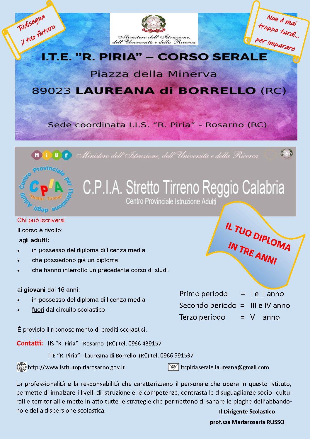 ITE Corso serale a.s. 2019/20